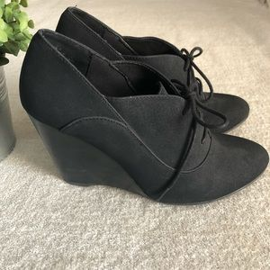 Restricted Shoes - Librarian Wedge Heel